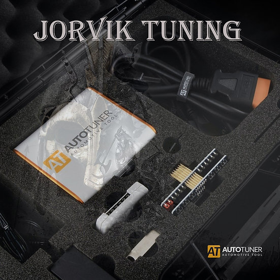 Autotuner ecu remapping tool on jorvik tuning background