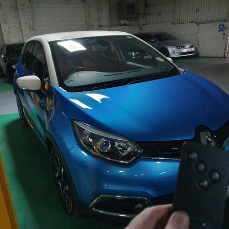 Renault Captur Lost Key Card