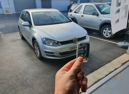 Volkwagon Golf MK7 lost Keys 1st in UK