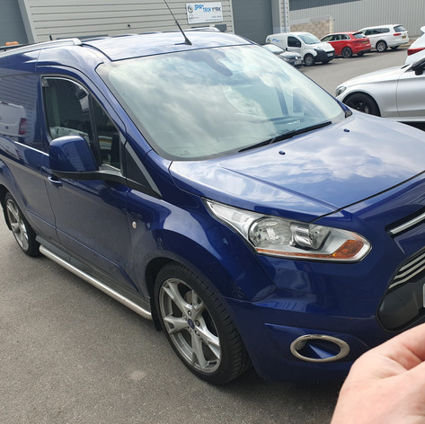 Ford Transit Connect 3 Button Key Programming