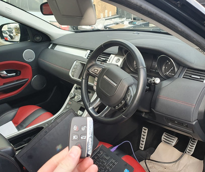Land Rover key programming