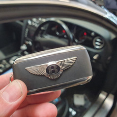 Bentley Continental GTC 3 button remote key Programming