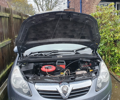 Vauxhall Corsa D lost car keys