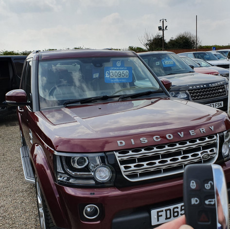 Land Rover Discovery L319 Replacement key