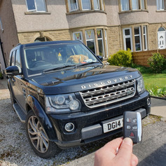 Land Rover Discovery 4 L319 Smart Key Programming