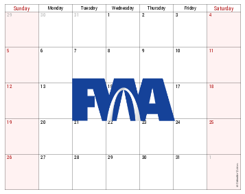 Rusty Westfall Calendar