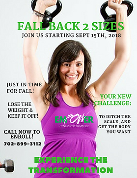 Fall Back 2 Sizes, Henderson, Las Vegas, weight loss, fitness, get fit, perosnal trainer, physical therapist, tone, lose weigth, gym