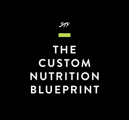 The Custom Nutrition Blueprint (12 week program)