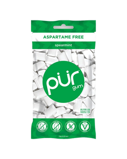 PUR 100% Xylitol Chewing Gum