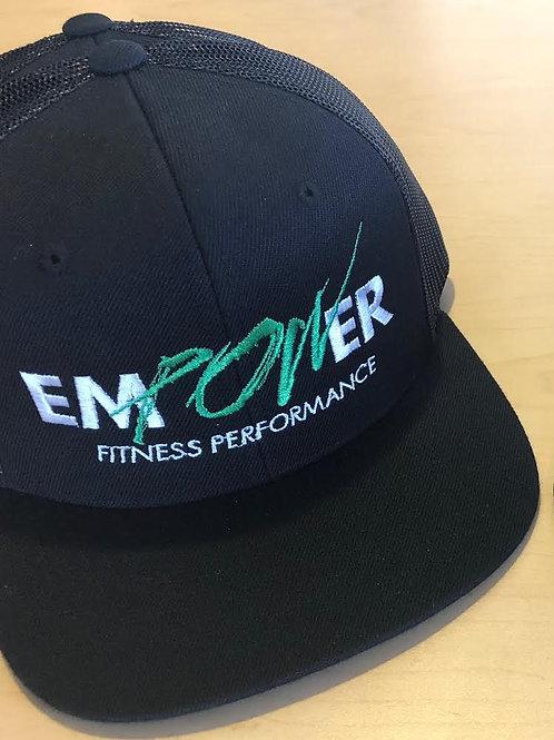 Snapback Hats - Black/Black