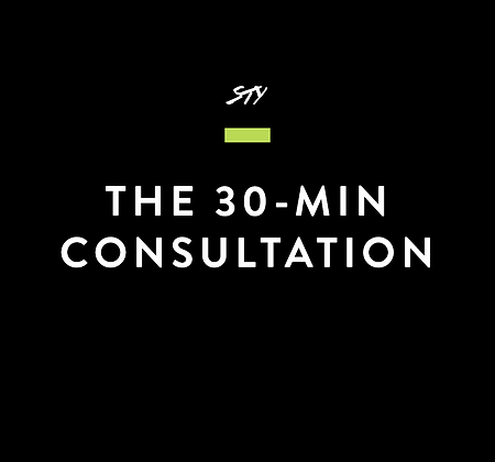 The 30-Minute Consultation
