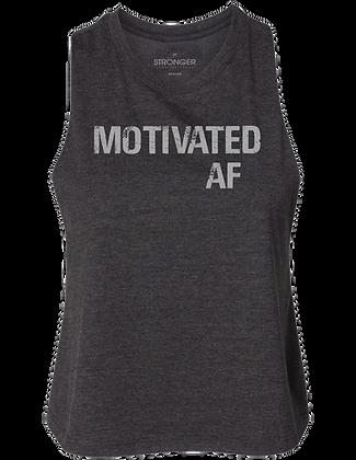 Motivated AF Cropped Tank