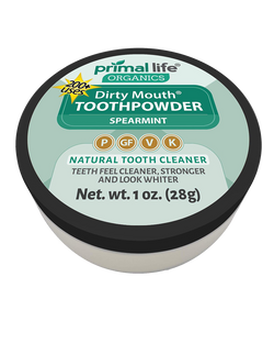 Dirty Mouth Organic Tooth Powder