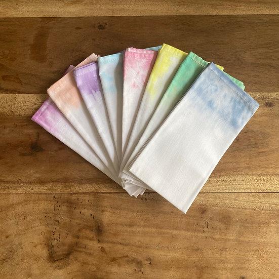 Dip Dye Cotton Napkin Set