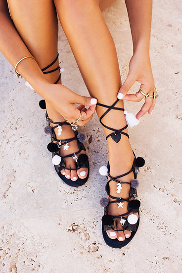 'English Summertime' Sandals