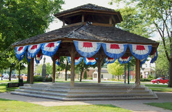 band stand  in brook park