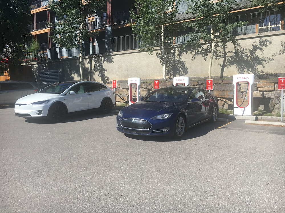 Charging up in Canmore