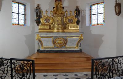Maître-autel XVIIIe (Aube)