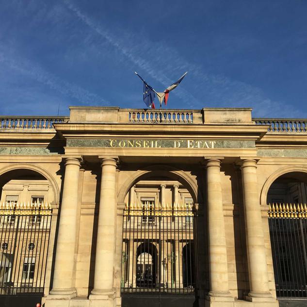 Conseil d'État, Palais-Royal, Paris