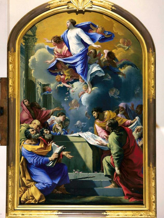 L'Assomption de la Vierge, Simon Vouet, 1644