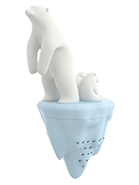 polar bear tea infuser