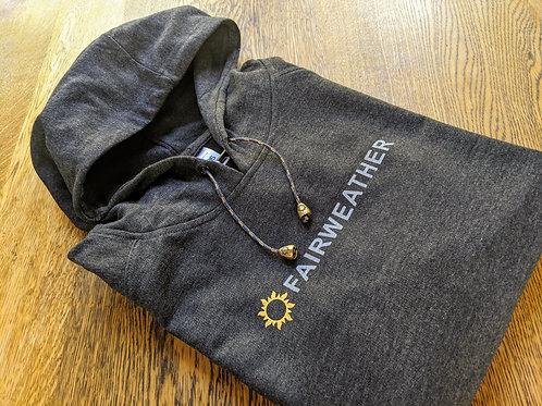 Fairweather Unisex Logo Hoody - Charcoal