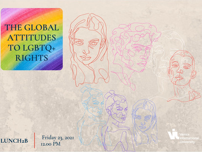 Lunch2B n°8: The global attitudes to LGBTQ + rights