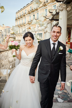 Congratulations to our LWW couple in Italy.