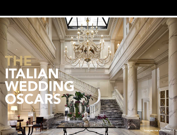 THE ITALIAN WEDDING OSCARS