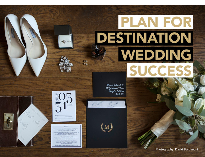 PLAN FOR (DESTINATION WEDDING) SUCCESS