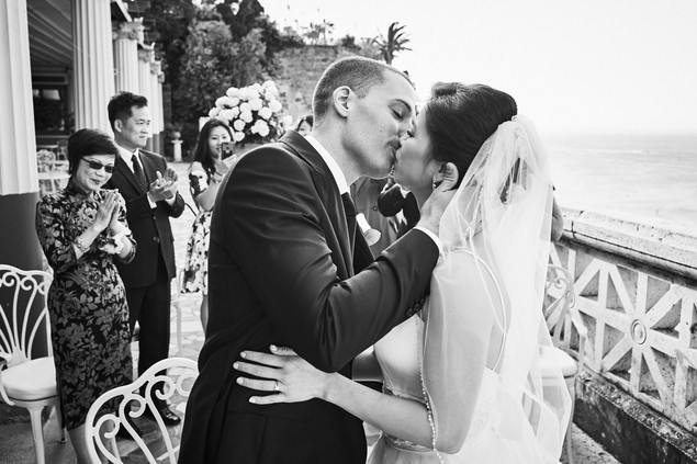 They did! Congratulations to our LWW couple in Italy.