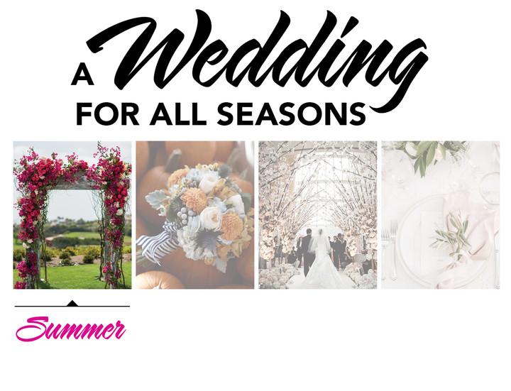 A WEDDING FOR ALL SEASONS: SUMMER