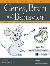 46C 2021 Genes Brain Behav Cover image g