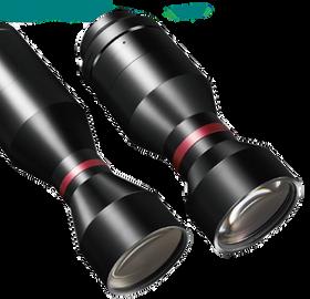 可調光圈雙遠心鏡頭 HRDTCA