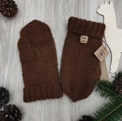 Rękawiczki z wełny alpaki