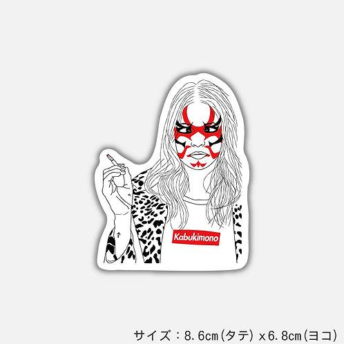 Stickers Kabukimono-B(2枚)