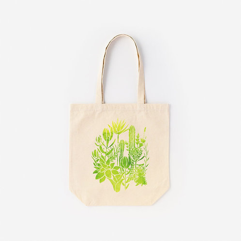 Tote-Bag 多肉植物