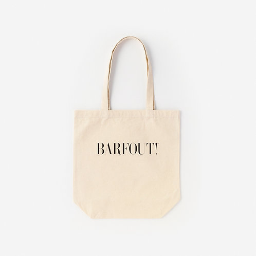 Tote-Bag BARFOUT!