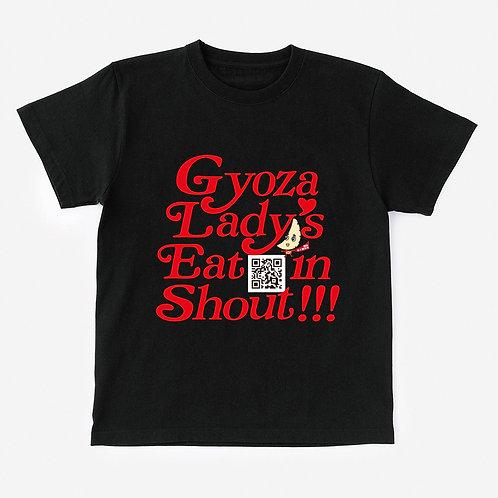 T-Shirt Gyoza Lady's Eat in Shout