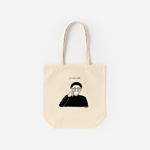Tote-Bag let's rest here.