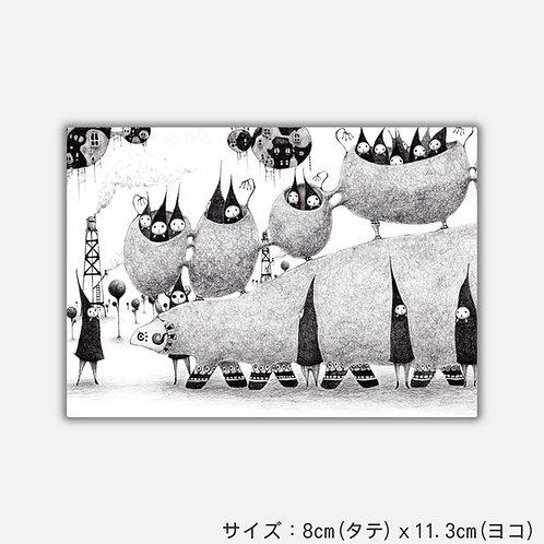 Stickers ズーコブラッタ(2枚)