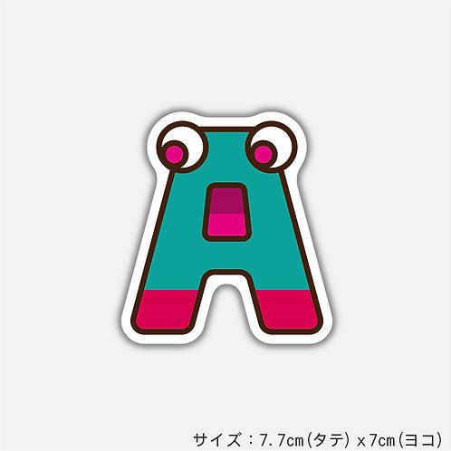 "Stickers ALPHABETER'S""A""(2枚)"
