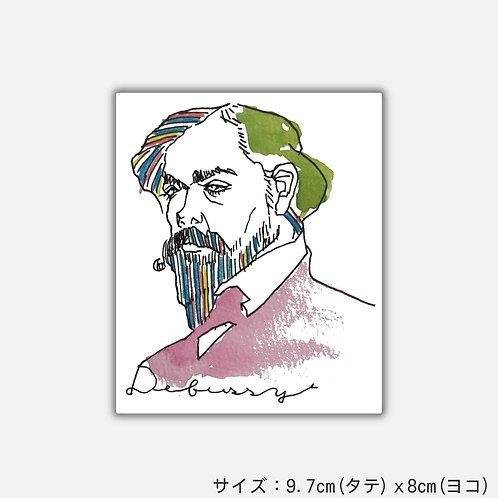 Stickers Dear Debussy(2枚)