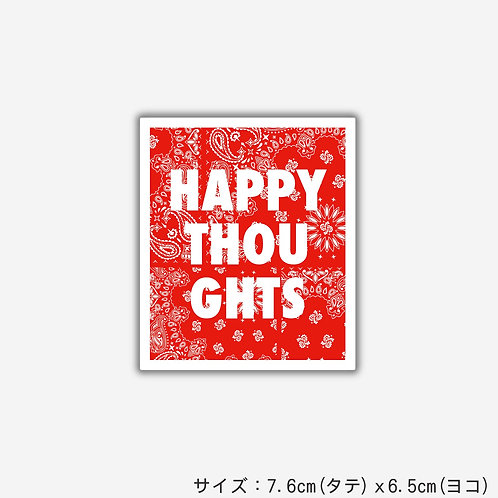Stickers HAPPY THOUGHTS(2枚)