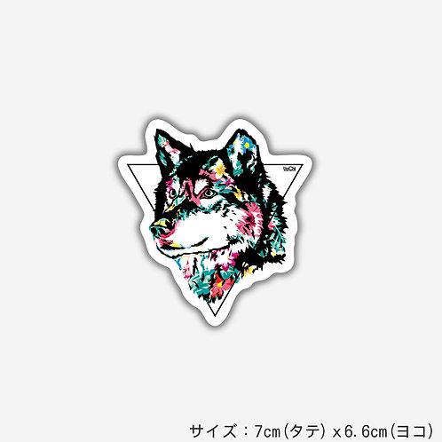 Stickers WOLFlower(2枚)