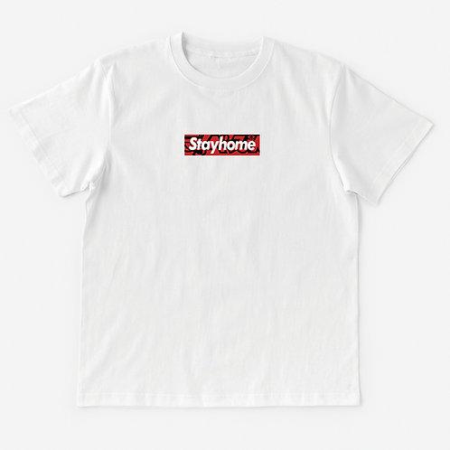 T-Shirt #Stay デラ home(II)
