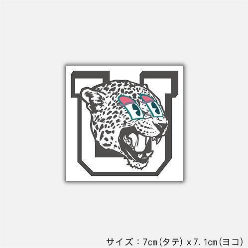 Stickers U panther(2枚)