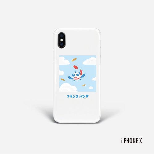 Device Case Panda in the sky