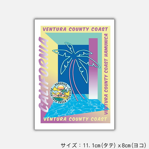 Stickers HYPER WEST COAST(2枚)