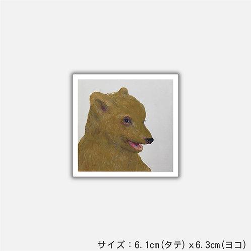 Stickers BABY BEAR CUB(2枚組)
